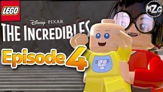 LEGO The Incredibles Gameplay Walkthrough - Episode 4 - Elastigirl On The Case! (PS4)
