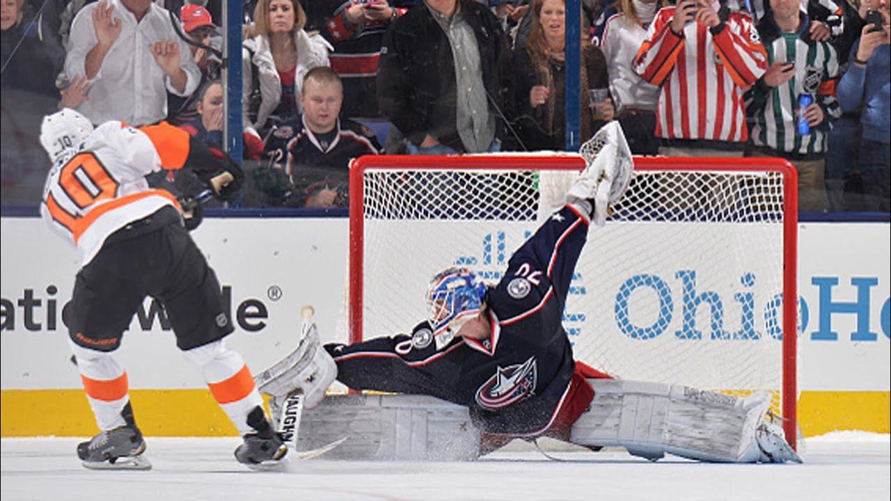 Shootout: Flyers vs Blue Jackets - YouTube