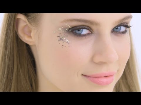 Glitzer Augen Make Up Tutorial Youtube