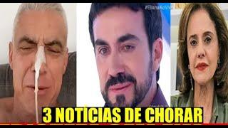 Só 1 Milagre ! 3 Notícias de Chorar de Marido de Ana Hickmann, Padre Fabio de Melo e Atriz...