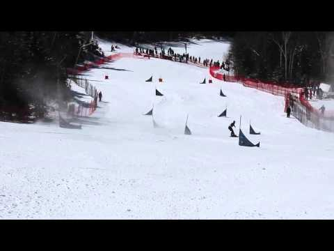 Mont Tremblant Nor-am Snowboard PGS Race to the Cup 2014