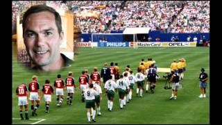 Rep of Ireland World Cup 1994 - Jason McAteer - Funny Story