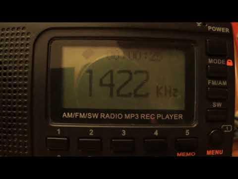 1422 kHz-Radio Nippon Hoso-Yokohama City-15;48 utc