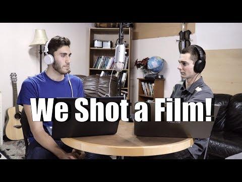 We Shot a Film! | Liberty Film Podcast