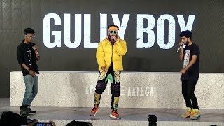 Ranveer Singh's ANGAAR Performance At Gully Boy Trailer Launch Event | FULL HD