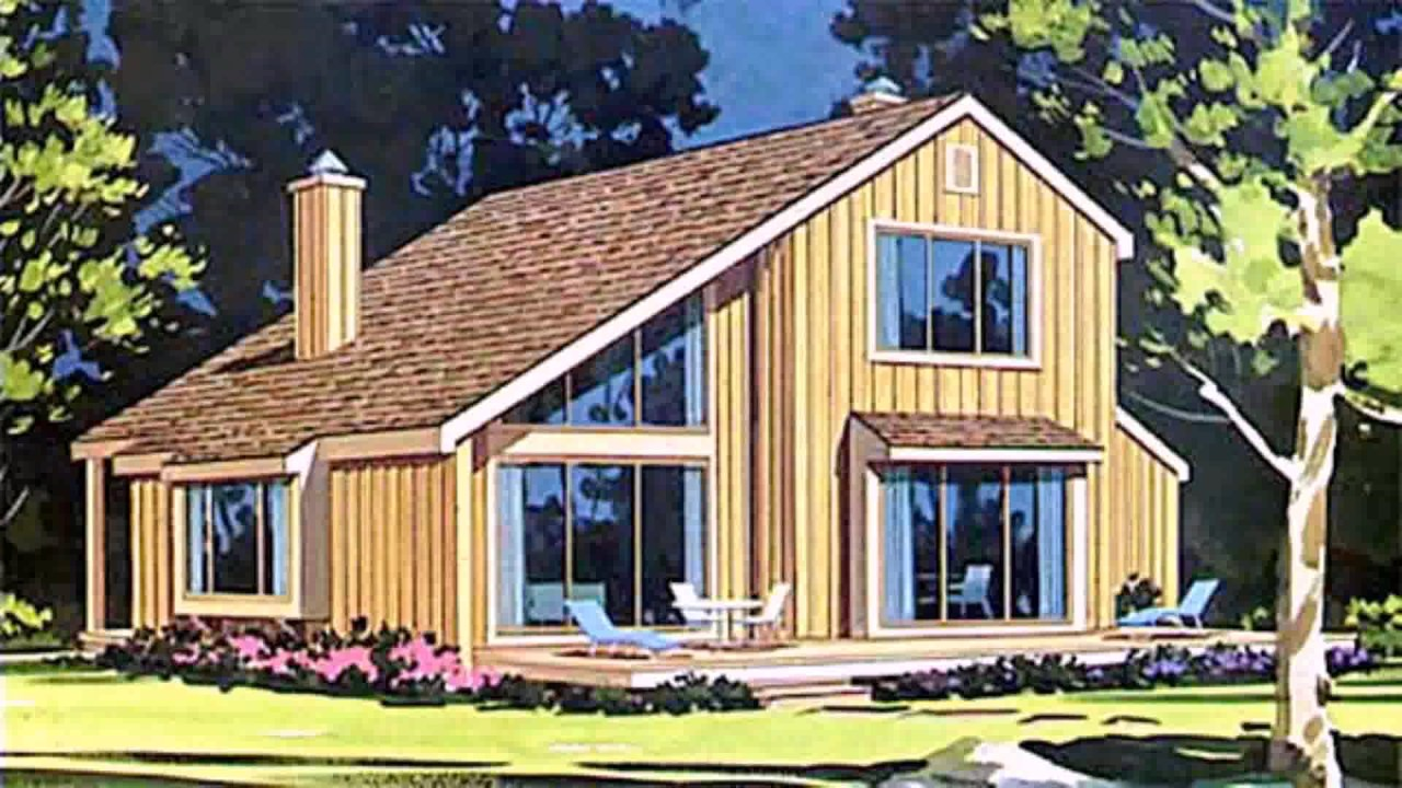 Saltbox house style architecture youtube for Saltbox design