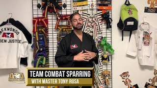 WS19 Team Combat Sparring w/ Master Tony Rosa | ATA Martial Arts