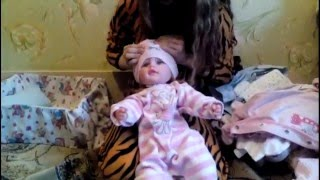 Играем в Куклы. ОБЗОР Всей одежды моей  куклы Насти!