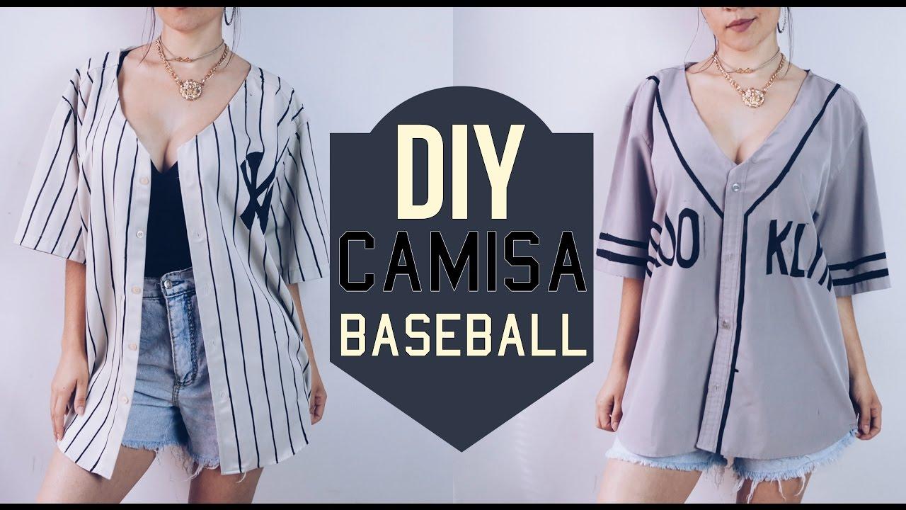 DIY Camisa baseball  ff615fe0a4e