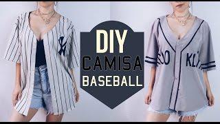 DIY Camisa baseball | Baseball shirt