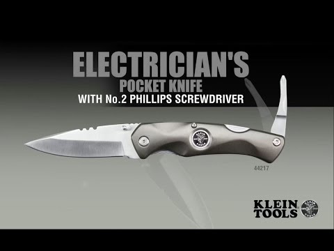 Electrician's Pocket Knife