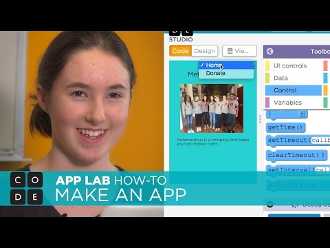 APP LAB HOW-TO: Make a simple app