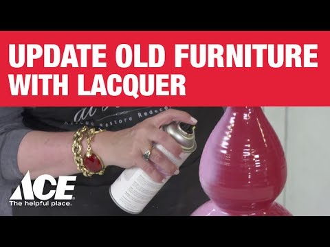 Update Old Furniture with Lacquer from Amy Howard at Home - Ace Hardware