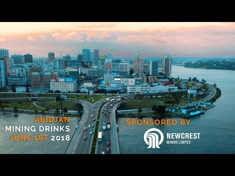 NEWCREST MINING SPONSORS THE JUNE 2018 ABIDJAN MINING DRINKS - Ivory Coast