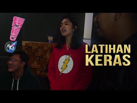 Pre-Recording Lagu Berpisah Itu Mudah, Rizky Febian dan Mikha Hafal Keras - Cumicam 03 Juli 2018