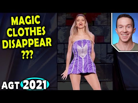 Magician REACTS to Léa Kyle STUNNING Quick-Change magic on America's Got Talent 2021