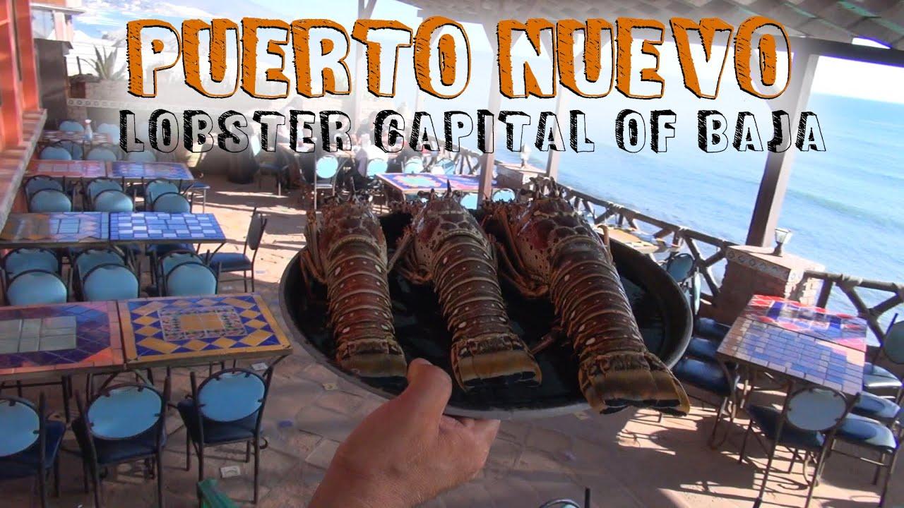 Puerto Nuevo aka Lobster Town! - YouTube