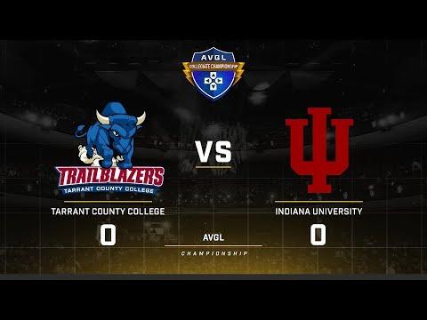 AVGL Collegiate Championship Fall 2017 Indiana vs Tarrant County Game 1
