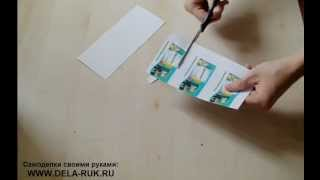 как сделать магнитик на холодильник своими руками