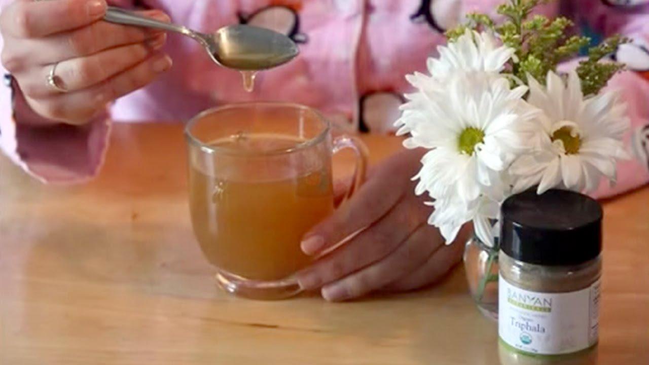 Making Triphala Tea
