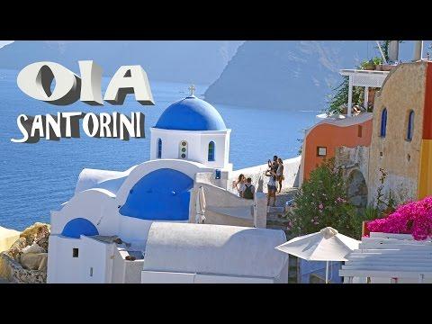 Oia - Santorini , Greece 2016 4K