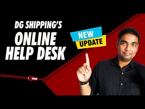 Dg Shipping's Online Help Desk for Indos, CDC and Other Merchant Navy Documents Related Problem