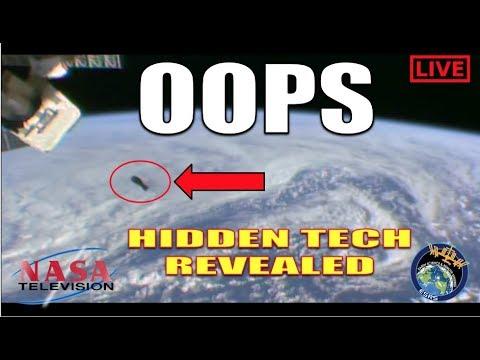 NASA LEAKS SECRET SATELLITE TECHNOLOGY DURING LIVE FEED ...