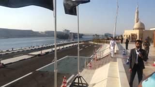 عبور السفن فى يوم افتتاح قناة السويس الجديدة 6أغسطس2015