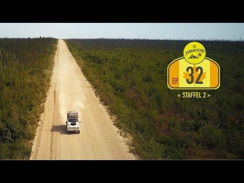 Dempster Highway - Nördlicher als der Polarkreis  | Yukon, NWT  - Canada | Reise-Doku-Vlog N° 32