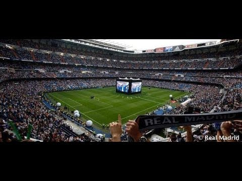 Real Madrid Fans Watching Champions League Final at Santiago Bernabeu   (24-05-2014)