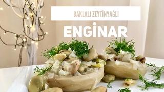 Baklalı Zeytinyağlı Enginar - Pratik Tarif / Yemek Tarifleri - Melis'in Mutfağı