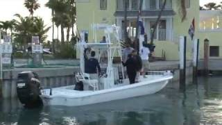 Shark fishing and trophy bonefish on Bass 2 Billfish with Mike and Chrissy (miami)