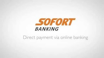 SOFORT Banking: Direct payment via online banking on a mobile device