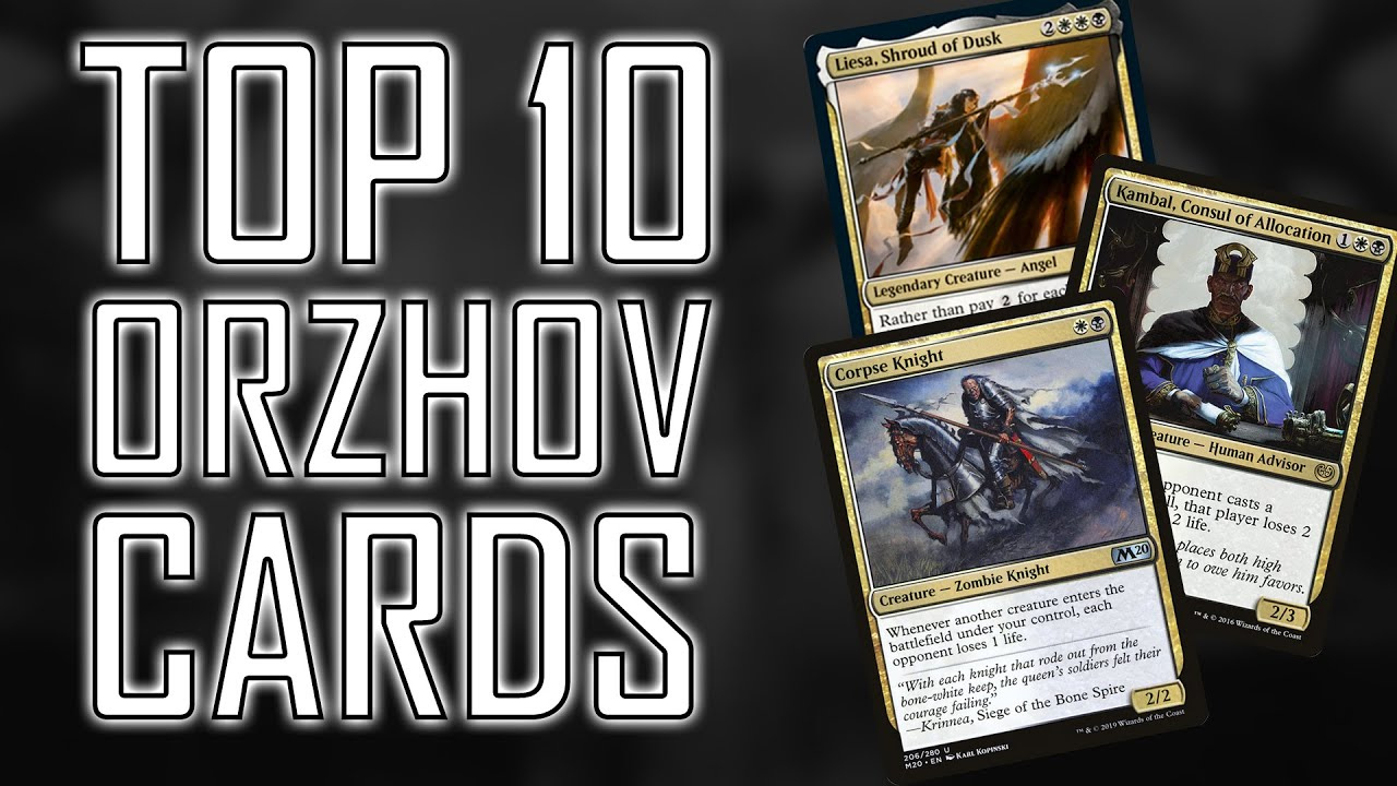 Top Ten Orzhov Commander Cards Youtube Both decks feature 100 cards, so you'll get a ready to play commander deck. top ten orzhov commander cards