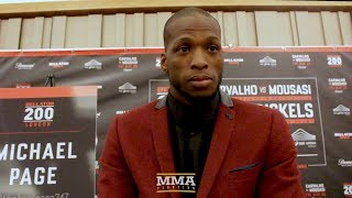 Bellator 200: Michael Page Says Paul Daley Bout Only Happens 'If I Want it to Happen' - MMA Fighting