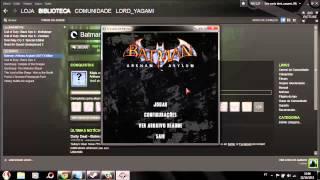 Batman Arkham Asylum: como corrigir erro