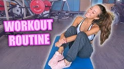 WORKOUT WITH ME! | Taylor Alesia