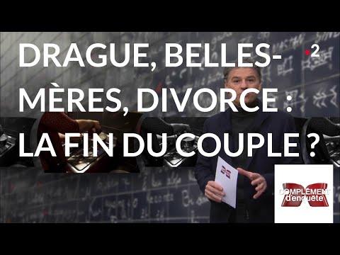 Complément d'enquête. Drague, belles-mères, divorce: la fin du couple ? - 10 janvier 2019 (France 2)