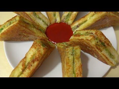 Easy and Healthy Sandwich Recipe,   ساندویچ آسان و مزه دار