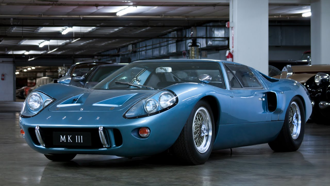A Ford GT40 That Never Saw A Race Track - YouTube