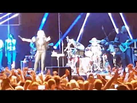 Anastacia - Singen/Htw.,  18 Juli 2017, Hohentwiel-Festival