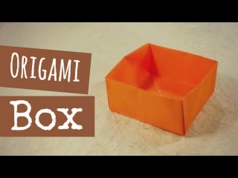 Origami Box Instructions - YouTube - photo#2