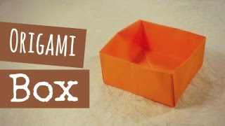 Origami Box Instructions