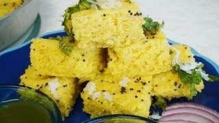 Instant Khaman Recipe Video - Nylon Khaman Recipe - Gujarati Cuisine By Bhavna
