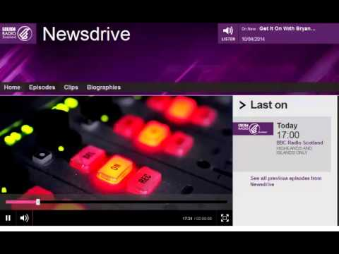 BBC Scotland Newsdrive: Heartbleed Threat