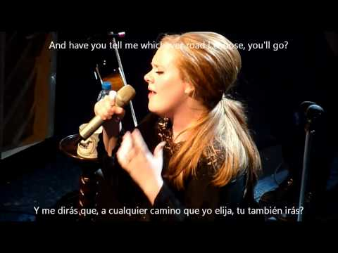 Adele - One and only subtitulado ingles español