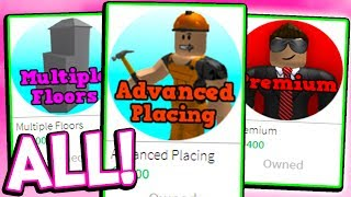 I BOUGHT EVERYTHING IN ROBLOX BLOXBURG!!