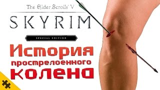 SKYRIM - КОЛЕНО которое ПРОСТРЕЛИЛИ (История мема)