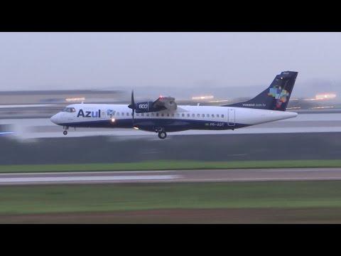 ATR72,E195,737,A320 em Viracopos (VCP) Campinas