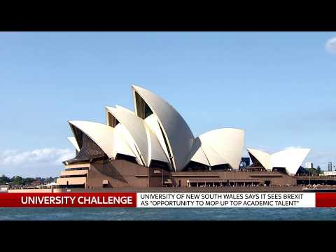 Australian universities 'see Brexit as an opportunity' for recruiting students
